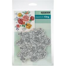 Penny Black Clear STAMPS - Floral Medley