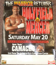 Evander Holyfield vs Ray Mercer 22 x 28 Official Poster Boxing Hector Camacho