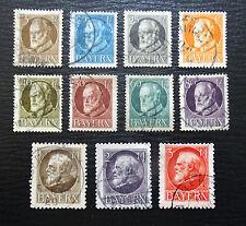 Bayern 94-106 II , König Ludwig III , Gestempelt