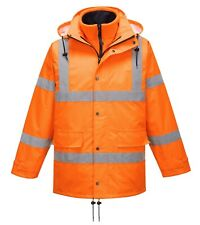Portwest RT63 HiVis Breathable Traffic Jacket Interactive Waterproof Safety Work