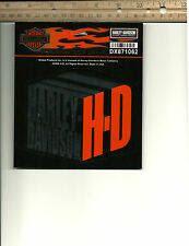 """New/Authentic - Harley Davidson Decal/Sticker """"H-D Box"""" - Inside/Outside"""