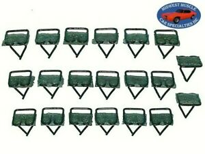 "Chrysler Dodge Plymouth 3/4""x3/4"""" Body Door Moulding Molding Trim Clips 20pcs X"