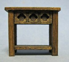 "1/2"" scale Gothic end table kit designed by Susan Karatjas sdk miniatures LLC"