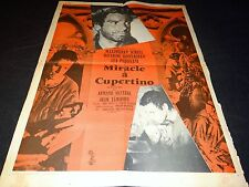 MIRACLE A CUPERTINO    affiche cinema 1964