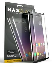 Galaxy Note 8 Note 9 Screen Protector, MAGGLASS Curved Tempered Glass Screen