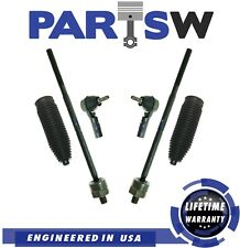 Kit for 2005 2006 2007 2008 2009 2010 Ford Mustang Inner Outer Tie Rods w/ Boot