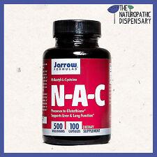 Jarrow. NAC. N-Acetyl Cysteine. 100 Capsules 500mg. Glutathione.
