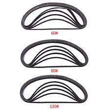 15x 60-120 Grit 10*330mm Abrasive Sanding Belts Air Belt Sander For Woodworking