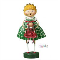 Holly's New Dolly Holiday Lori Mitchell Collectible Figurine  NIB Free shipping