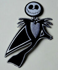 JACK NIGHTMARE BEFORE CHRISTMAS 20cm Iron Sew On Cloth Patch Badge APPLIQUE