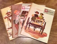 4 - 1953 WESTWARD Kaiser Steel Monthly California Word West  AUG SEPT OCT NOV