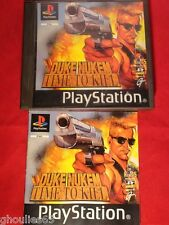 DUKE NUKEM TIME TO KILL PLAYSTATION 1 DUKE NUKEN TIME TO KILL PS1 PSONE PS2 PS3