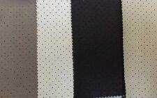 PERFORATED LEATHER FABRIC HEADLINER Auto Upholstery Seating Trimmings Door Seals