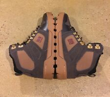 DC Spartan High WR Boots Men's Size 7 US Brown Red BMX MOTO Skate Sneakerboot
