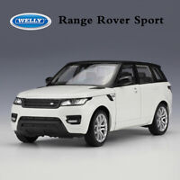 WELLY Diecast Cars Model Toys Land Rover Range Rover Sport White in 1:24 Scale