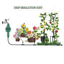 Irrigation System Home Garden Yard Smart Tap Controller Hose Spike Sprinkler set