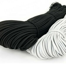 More details for nylon elastic band round rubber sewing rope craft diy line fabric apparel 90m