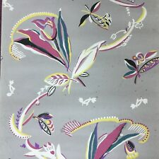 RARE Papier Peint Ancien ART DECO 1920 Wallpaper Provenance Coutau Begarie