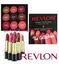 Revlon 9 Super Lustrous LipsticksThe Collection Lip Cube