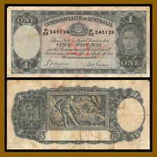 Australia 1 Pound, 1938 P-26a Sheehan / McFarlane Circulated (Cir)