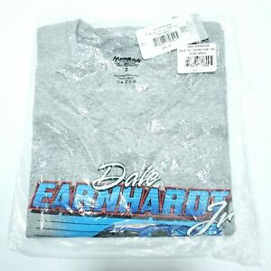 Dale Earnhardt Jr Ladies Women Small T-shirt V Neck Grey Blue Nascar New NWT