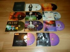 H.I.M  - THE SINGLES COLLECTION  (RARE LIMITED EDiTION 10 CD SINGLE BOX SET)