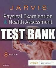 Test Bank Physical Examination and Health Assessment 8e by Jarvis