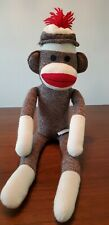 Schylling 22 Inch Retro Sock Monkey Excellent Condition