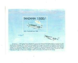 Tanzania 1999 UFO'S - Souvenir Sheet - MNH - Scott 1827