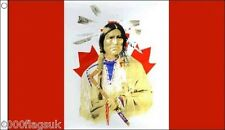 Canada First Nation Native American Variant 5'x3' Flag