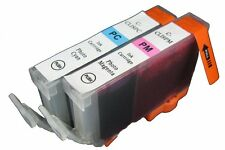 2 Pack Canon CLI-8 PC & CLI-8 PM compatible ink cartridges