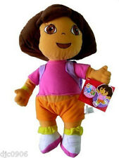 "Nick Jr. Dora the Explorer 10"" Plush Doll Soft Stuffed Toy Figure-New!"