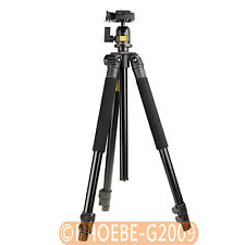 Camera Tripod with Ball Head & Quick Release Shoe/ Plate