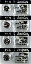 4 Pc Energizer 371 1.55 Volt Button Cell Watch Battery