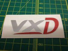 VXD Decal Boot Autocollant x1 Corsa Astra Vectra Zafira VXR