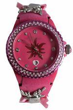 Damen-Armbanduhr EDELKITZ Analog Quarz Leder Trachtenuhr EZDP02