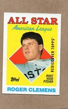 2017 topps rediscover buyback card 1988 394 roger clemens boston red sox bronze