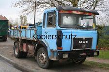 Truck Photo - Lkw Foto MAN F8 19.281 Kipper - Tipper Truck   /133