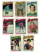 1976-77 OPC NHL Hockey lot - NM-MT - pick only the cards you need - $1 each