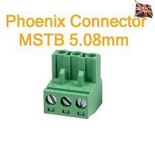 Phoenix 3 Vie Connettore 3 PIN MSTB Professional ingresso audio UK STOCK