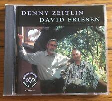 Denny Zeitlin & David Friesen CD Concord Jazz Catalogue Number CCD-4639
