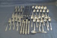 SL&GH Rogers Oneida Ltd. Homestead 44pc Set Stainless Steel Flatware