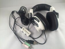 Turtle Beach Ear force X11 Gaming Headset Chat Mic For XBOX 360 / PC TESTED