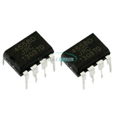 20PCS JRC 4558D JRC4558D DIP 8 OPAMP OP AMPS CHIP IC Low Power TS808 TS9