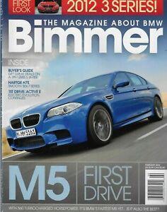 BMW Bimmer Auto Magazine M5 Active E 3 Series 5 Hartge H7S E39 2002 Turbo 2012