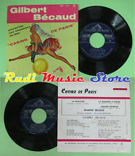 LP 45 7'' GILBERT BECAUD Le magicien La machine a ecrire Square no cd mc dvd
