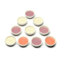 Set of 5 Cotton Fresh, Vanilla Orchid Exotic Mango 2PK Ceramic Bowl Candles