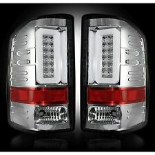 RECON 264298CL Chevy Silverado 16-17 1500 2500 3500 Clear Tail Lights LED