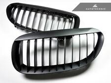AutoTecknic BM-0180 Matte Black Front Grille Fits 04-11 BMW 6-Series M6