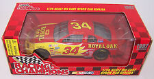 1997 Racing Champions 1:24 MIKE McLAUGHLIN #34 Royal Oak Chevrolet Monte Carlo